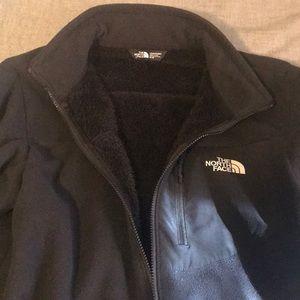 Men's The NorthFace fleece zip up jacket. Size M